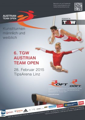Austrian Team Open WAG MAG Linz 28 February 2015 Poster WEB